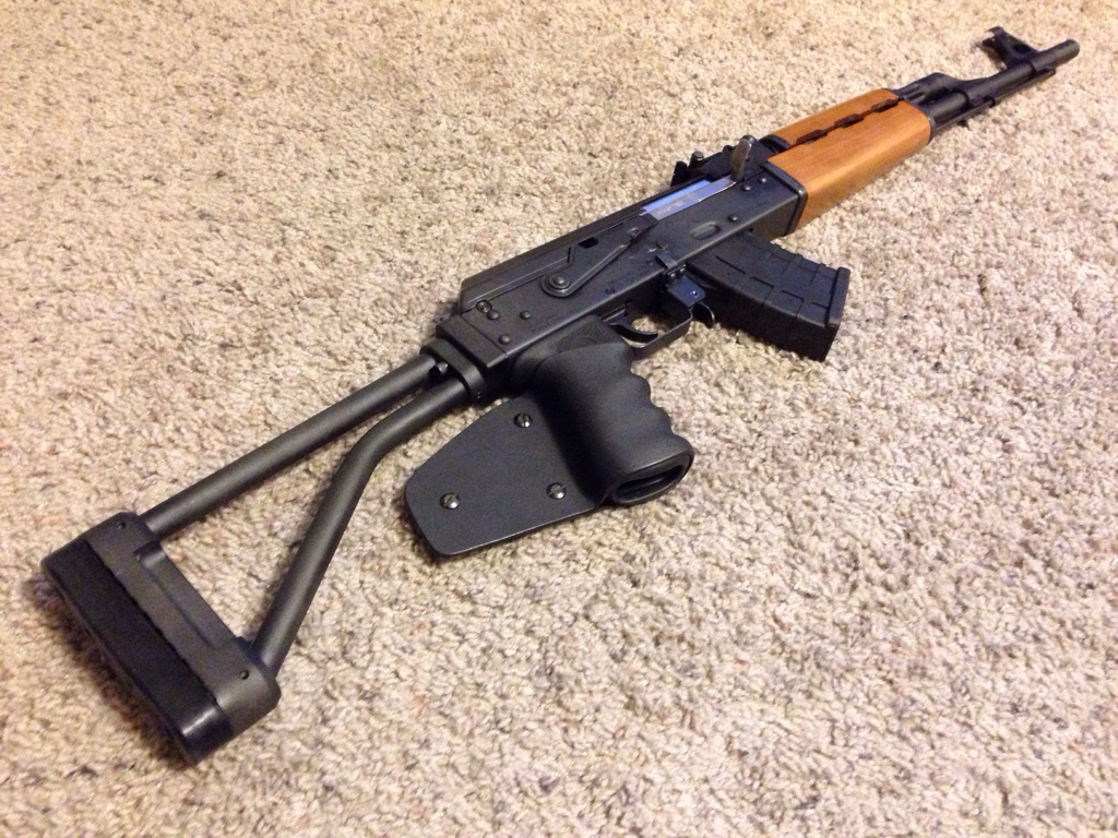 N-PAP stock adapter - The AK Files Forums