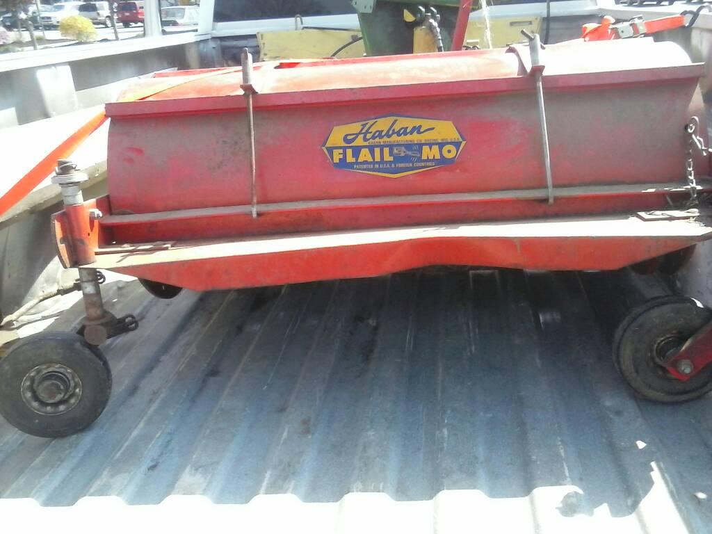 Haban flail mower Portland Maine