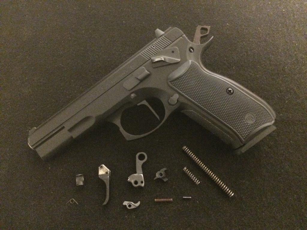 CZ 75B SA Garage Gunsmithing - Calguns net