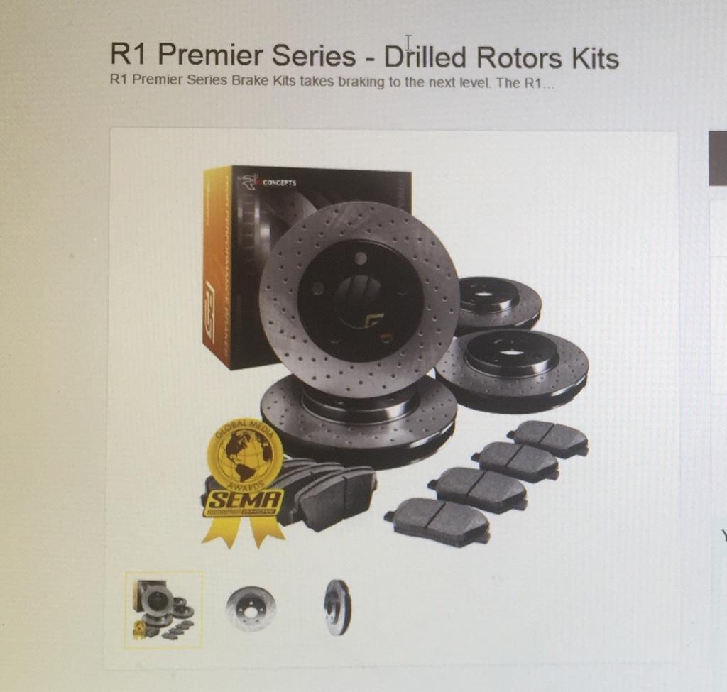 Rotors Ceramic Pads R 2006 2007 2008 2009 2010 Hummer H3 OE Replacement