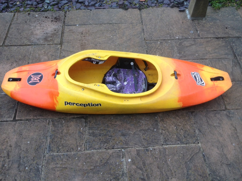 For sale] Perception Spin, yellow/orange, £50 - The UK