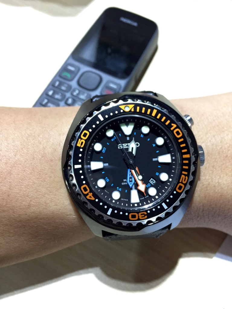 Seiko Prospex Kinetic GMT Diver s 200m Watch c28d4050b