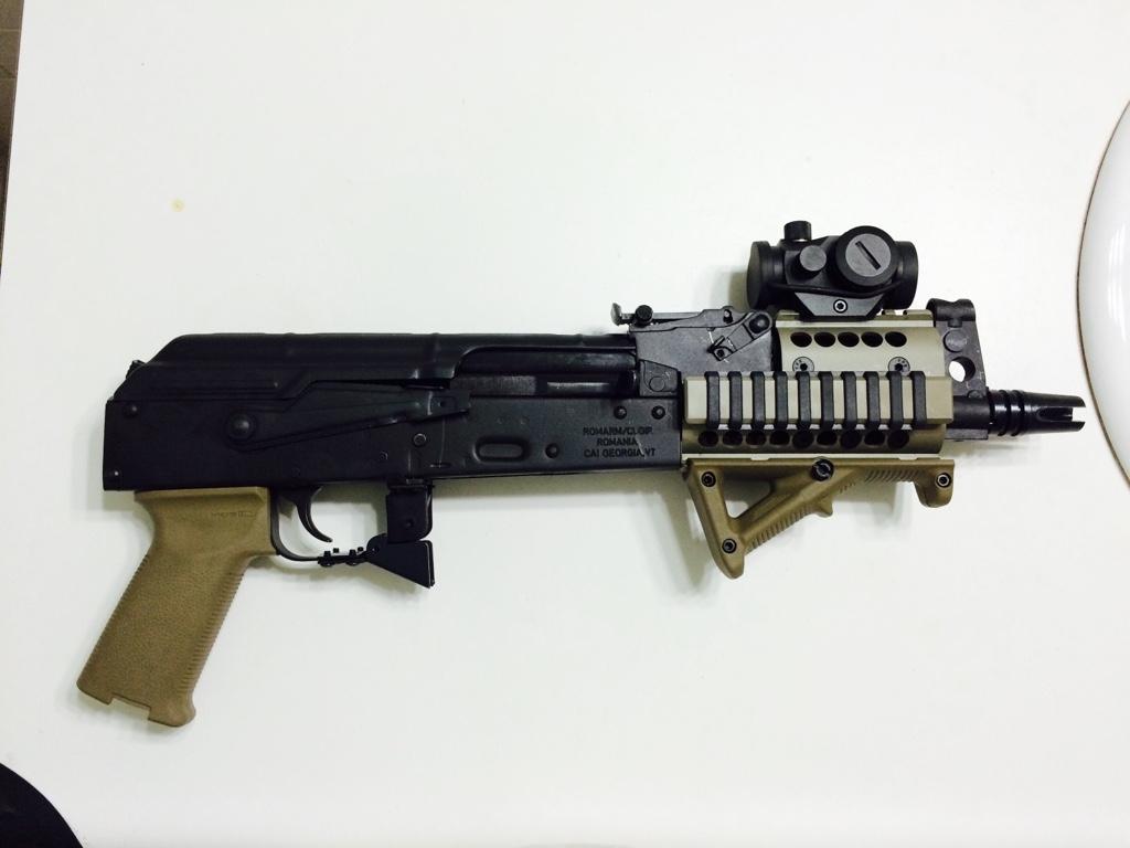 WTS Mini Draco AK pistol 7 62 in Los Angeles - Calguns net