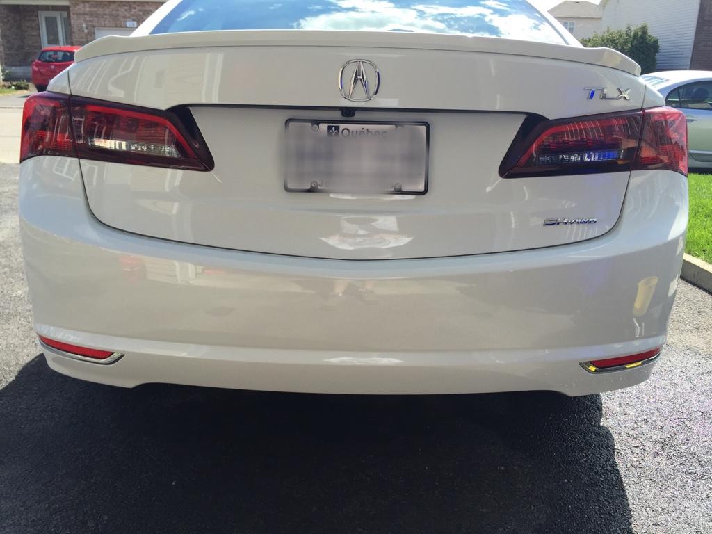 Rear Bumper Question Acura TLX Forum - Acura bumper