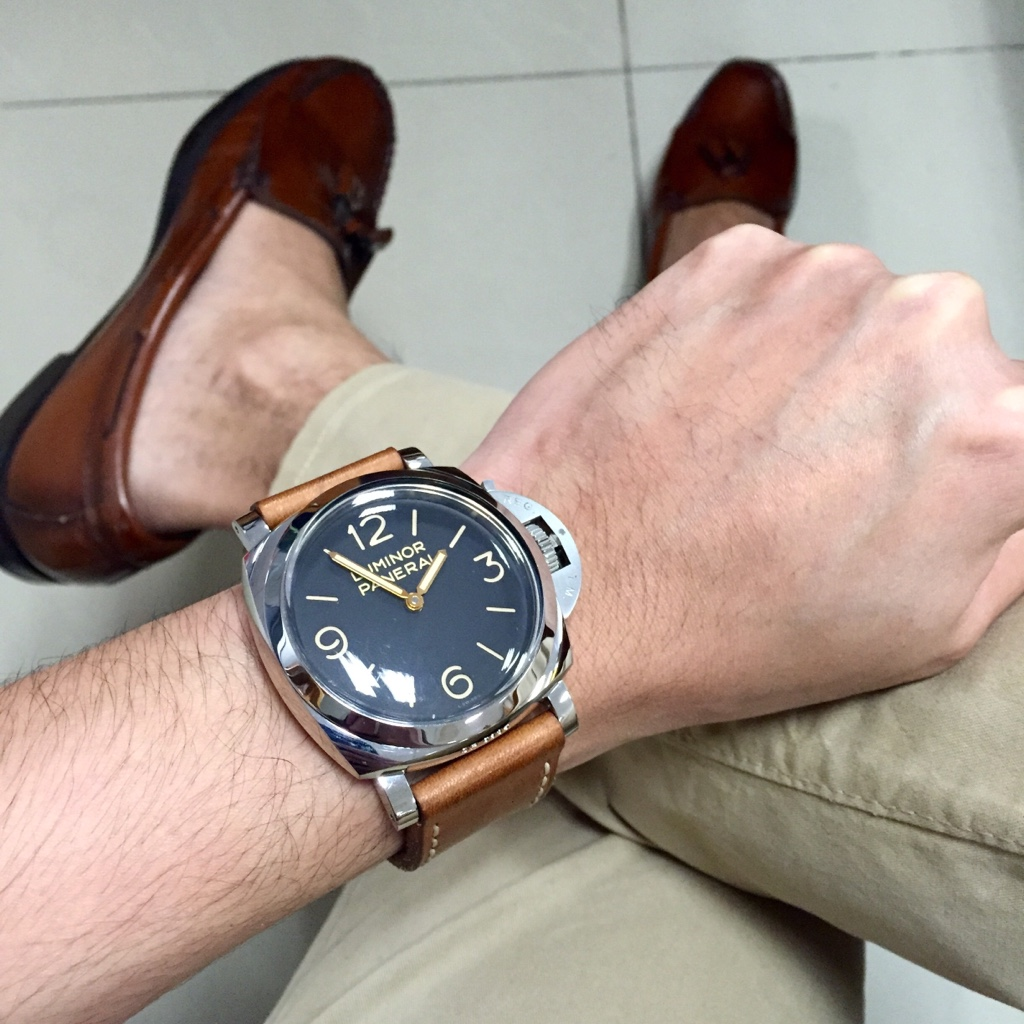 Small Wrists Tried On A Panerai Today