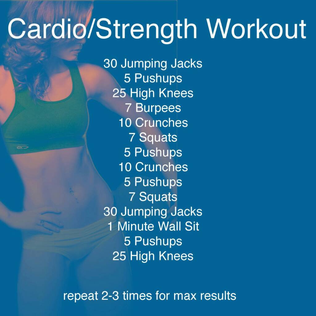 Home Workout Routines 3 Quick Workouts To Get You In Shape