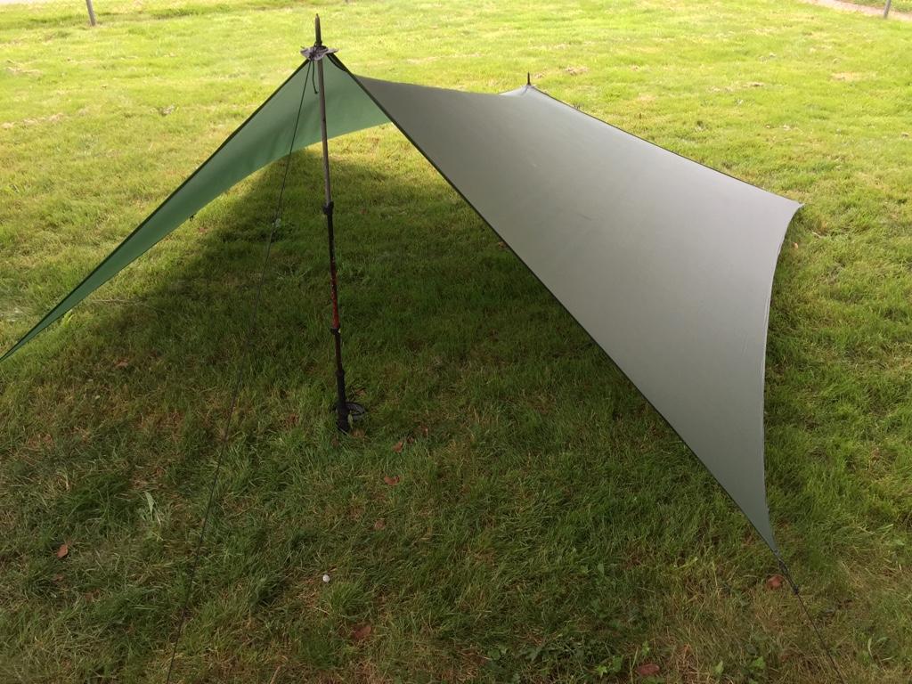 & DIY Silnylon Tarp Shelter