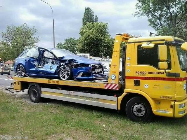 Rozbite Rs6 Na Każdy Temat Audi A4 Klub Polska