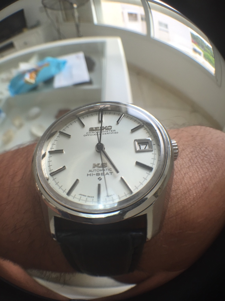 FS King Seiko 5625 7041 Overhauled With Sapphire Crystal