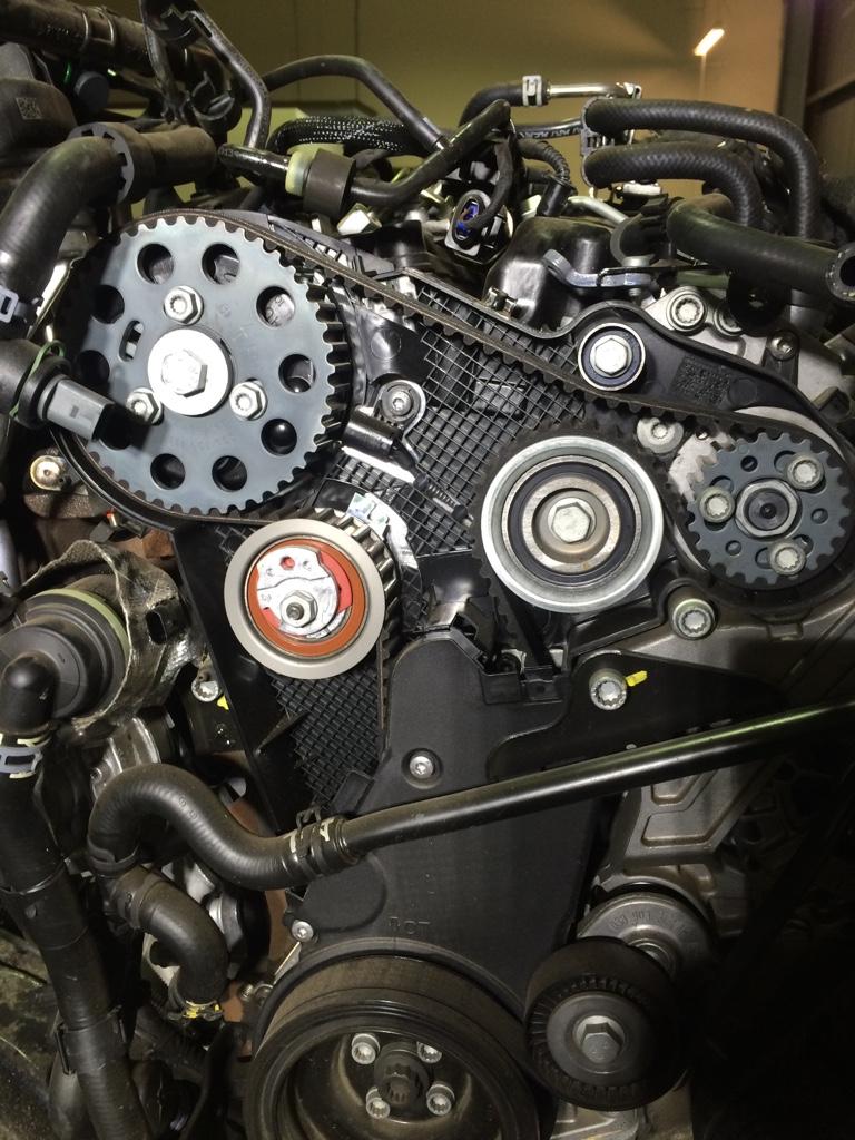Timing belt replacement [Archive] - AusAmarok - Volkswagen Amarok