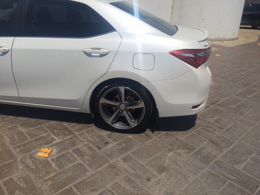 Yeni Corolla 1 33 Celik Jant Ve Sis