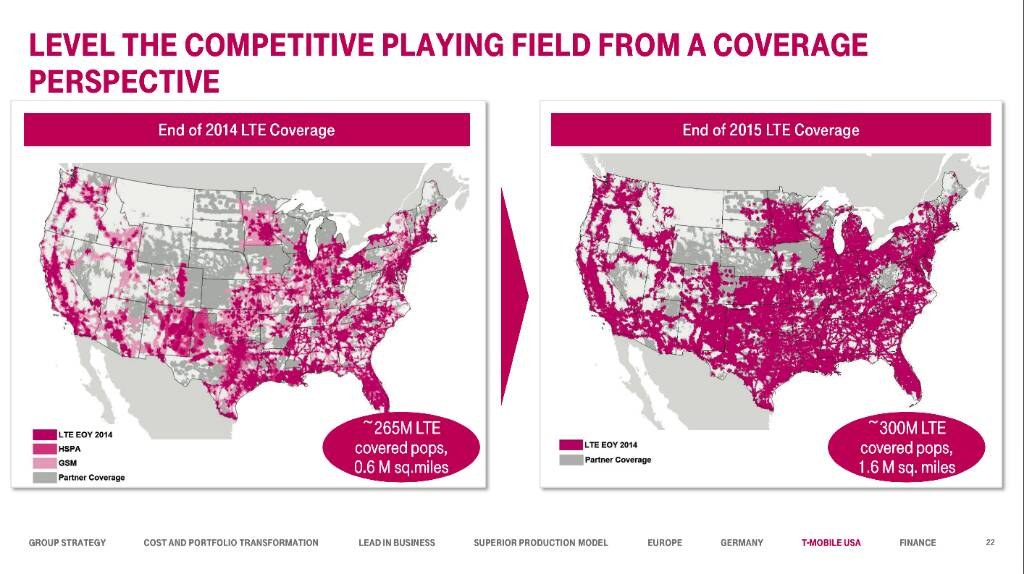 Att Vs TMobile Android Forums At AndroidCentralcom - T mobile coverage map us