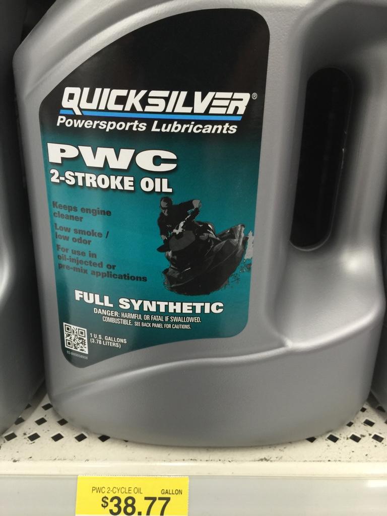 Quicksilver PWC Oil Rotax 717