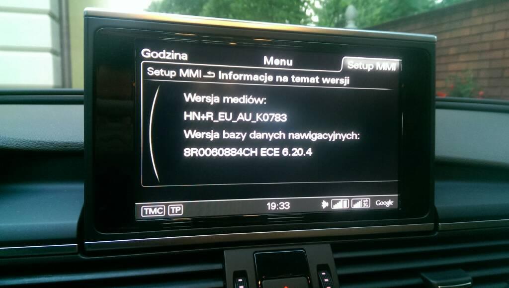 Zobacz wątek - [A7 2012] jakie mam MMI •  : AUDI KLUB POLSKA :  •