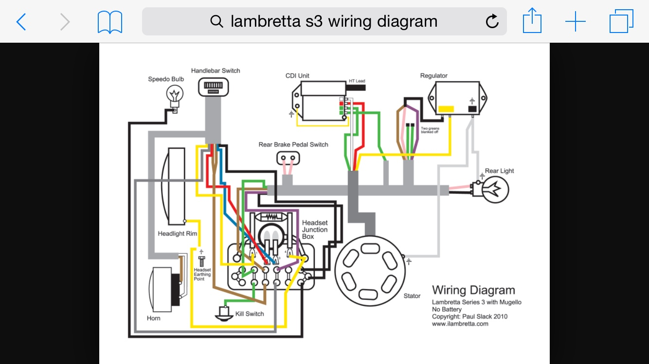 sip speedo li s3 ac set up help scooterotica rh scooterotica org Motorcycle Headlight Wiring Diagram lambretta gp headlight wiring diagram