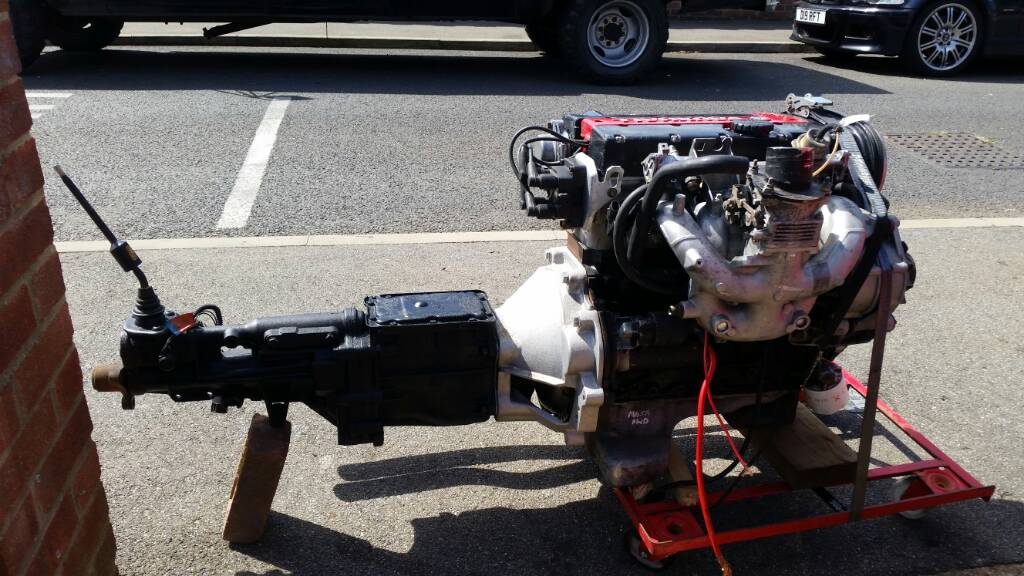 Vauxhall redtop c20xe complete rwd conversion with ford type9
