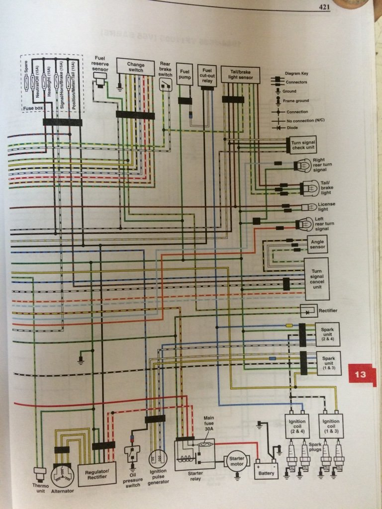 Tr Magna Wiring Diagram Page 3 And Schematics 1984 Honda Goldwing Anyone Have 85 V65 V4musclebike Com Rh