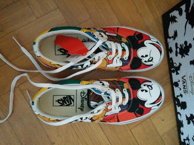 vans zapatillas disney