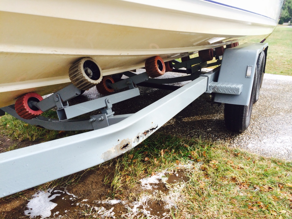 Another boat trailer build.