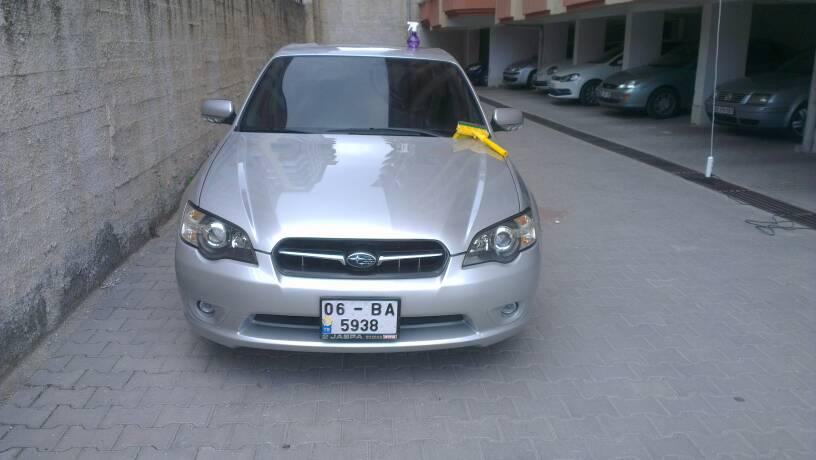 Subaru Legacy Sahin Pasta Cila Boya Koruma Far Parlatma