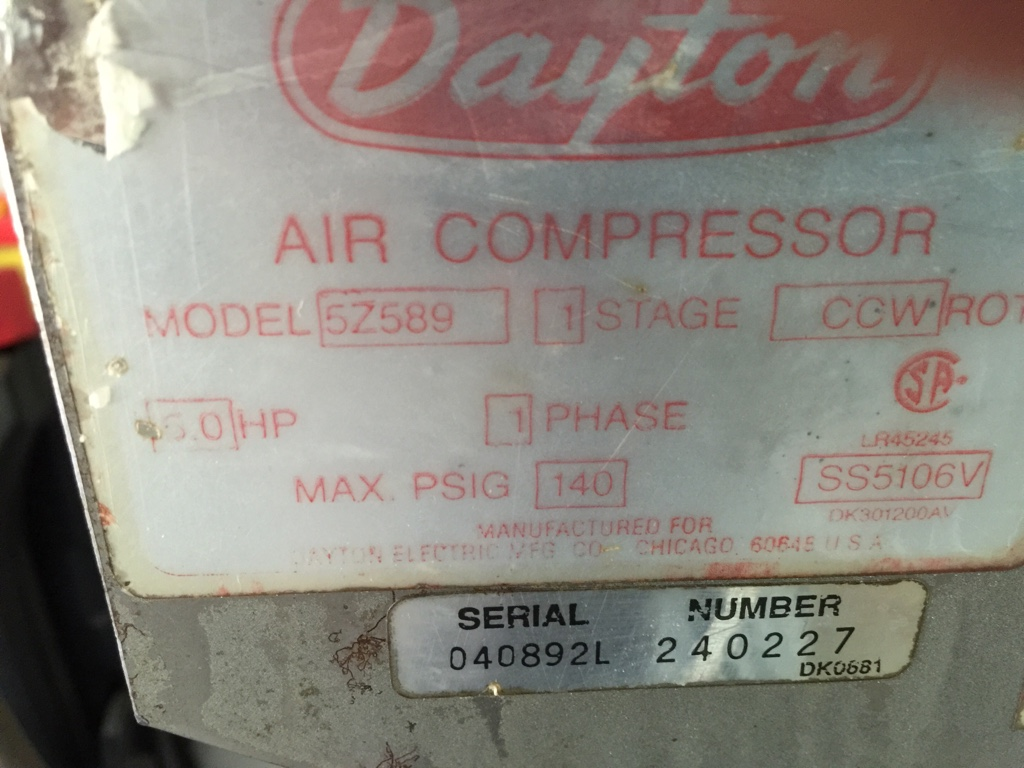 Dayton Air Compressor Motor Wiring Diagrams Motor Repalcement Parts