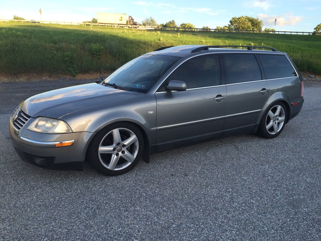 2003 Volkswagen Passat Wagon - V6 30V - 5 speed - 174 K miles - ST  Suspension Coilovers - 17 Audi B7 wheels - Recently had Timing Belt service  (by previous ...