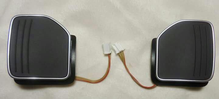 Palette Paddle Cromate per Cambio DSG S-Tronic Originali Audi S & RS - in Componenti