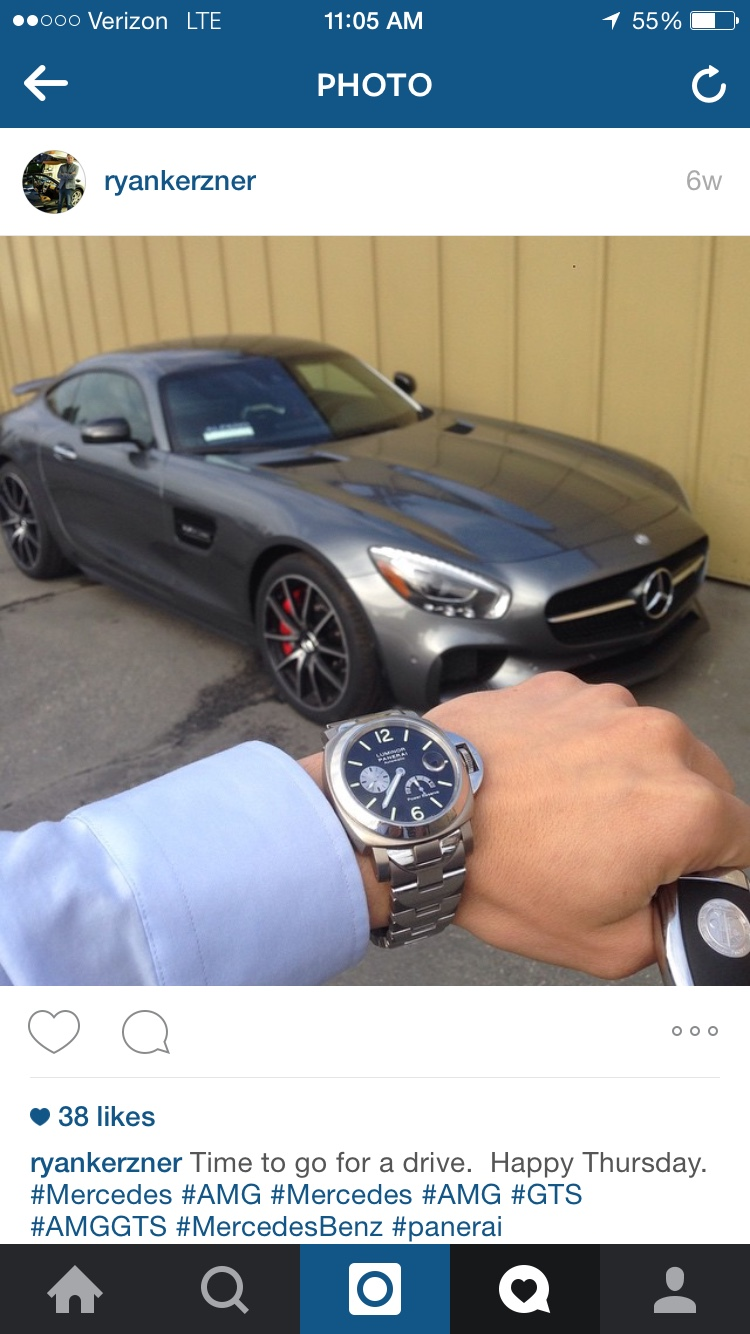 My PAM 171 and Mercedes AMG GT-S - Rolex Forums - Rolex