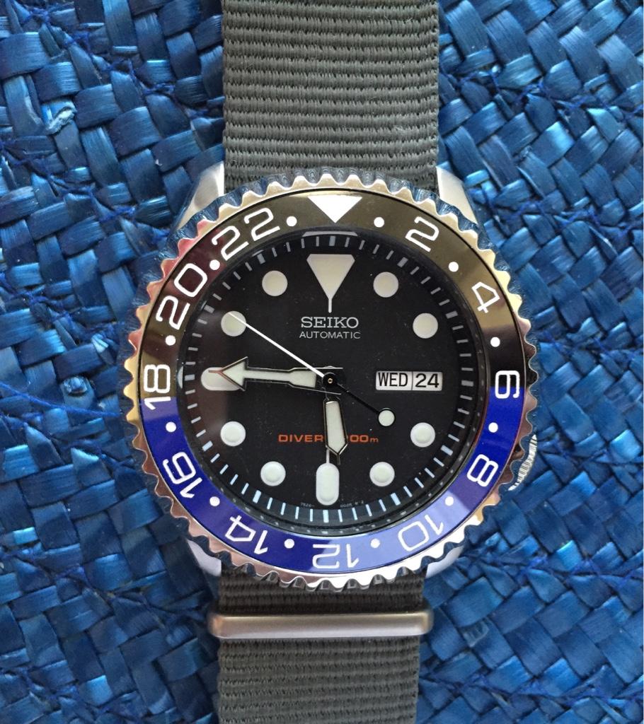 Batman Seiko SKX? - Rolex Forums - Rolex Watch Forum