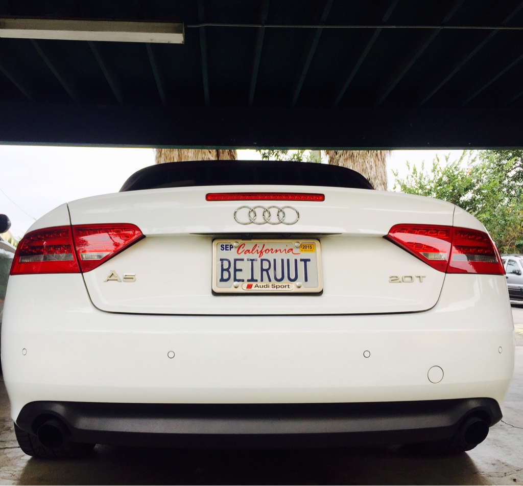 Perfect Audi Sport License Plate Frame Composition - Picture Frame ...
