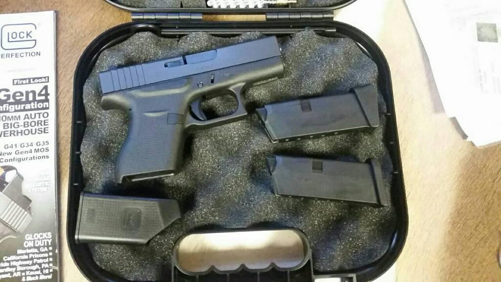 My new little Glock 43
