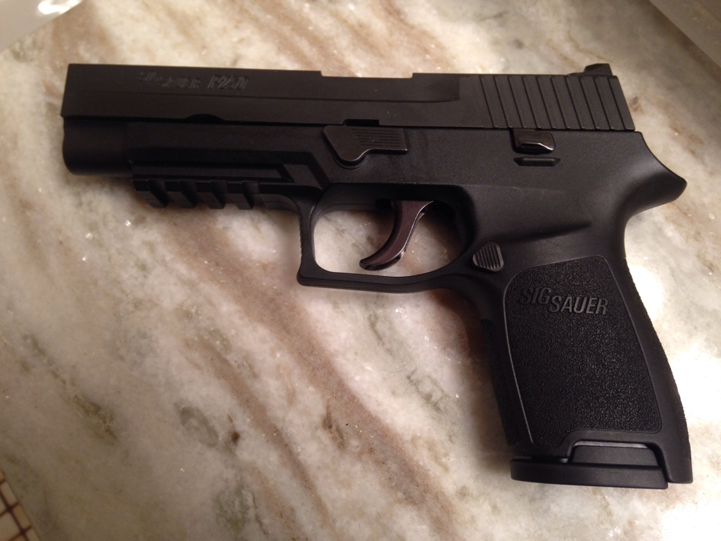 P320 full length slide on Carry and Compact framed - SIG Talk