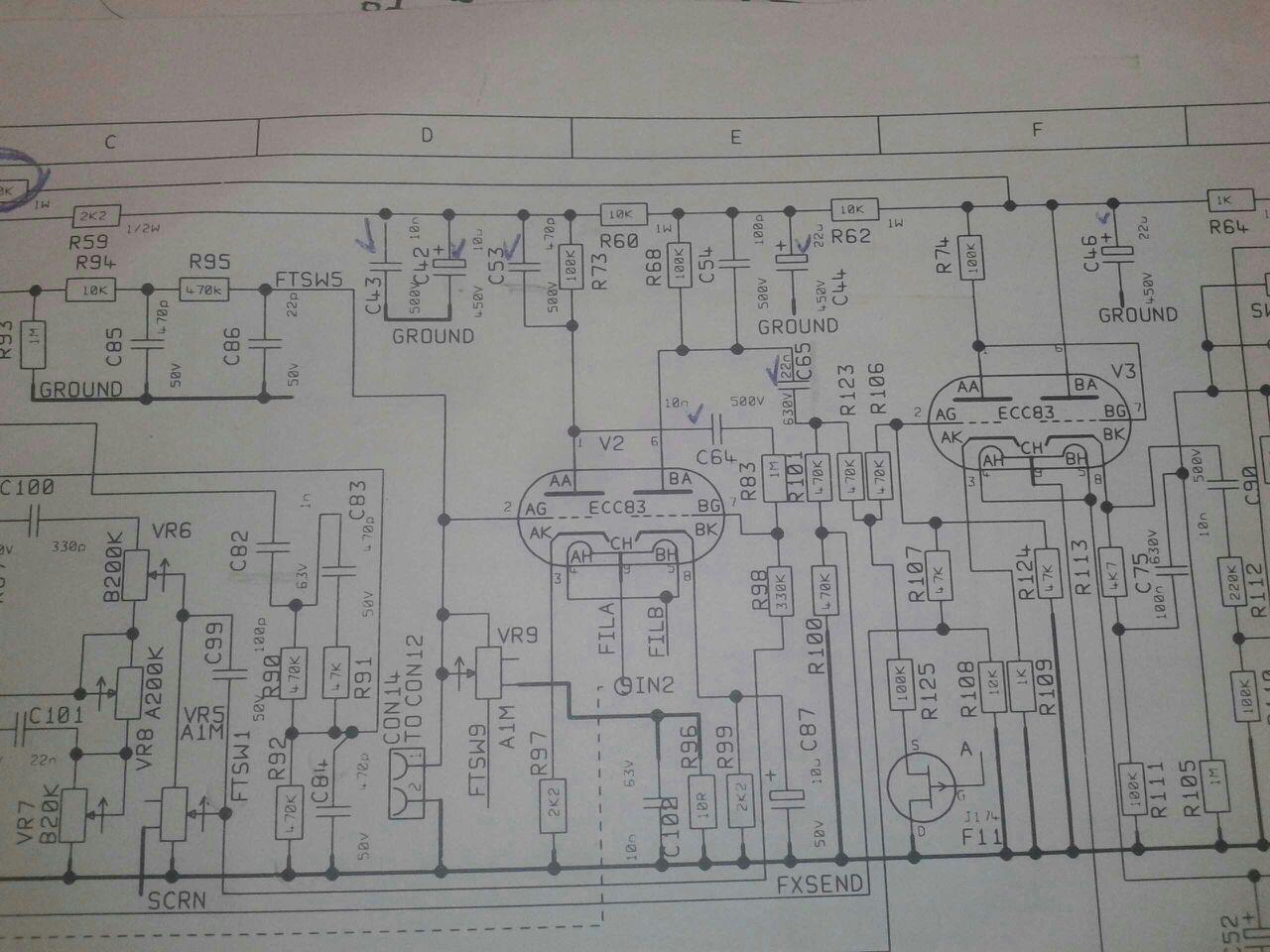 электроника 25тц-427д схема