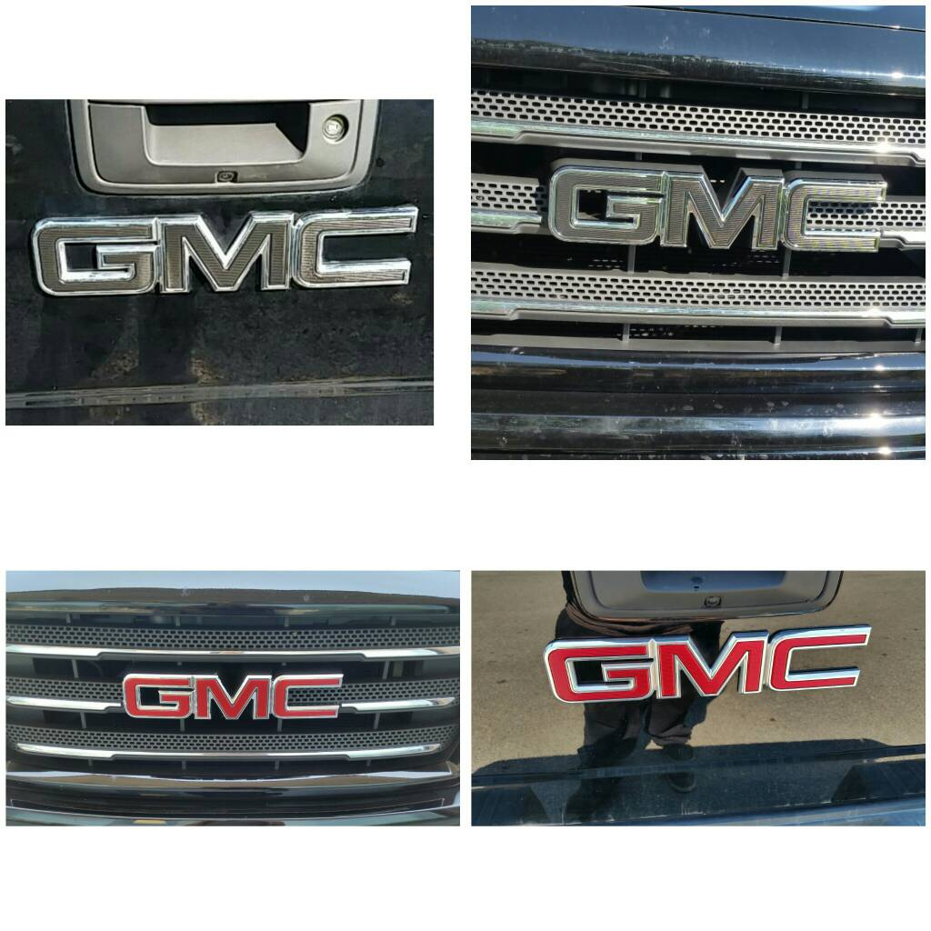 Vinyl Wrap Chevy Bowtie Emblems 2014 2018 Silverado Sierra Mods