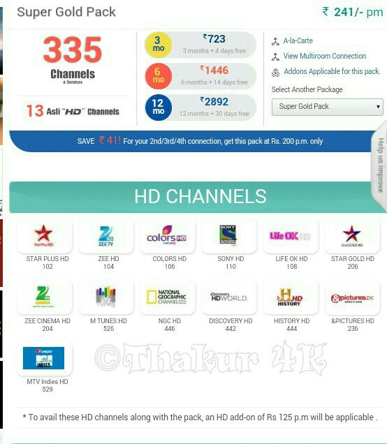 dresethcia • Blog Archive • Videocon d2h add on activation
