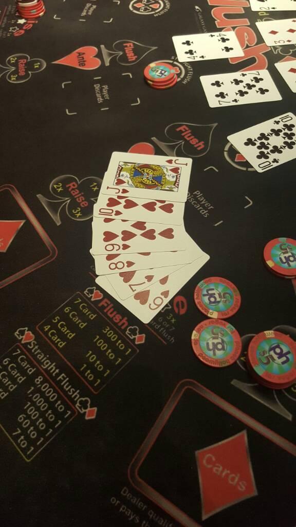 Table Games High Card Flush Vegas Message Board