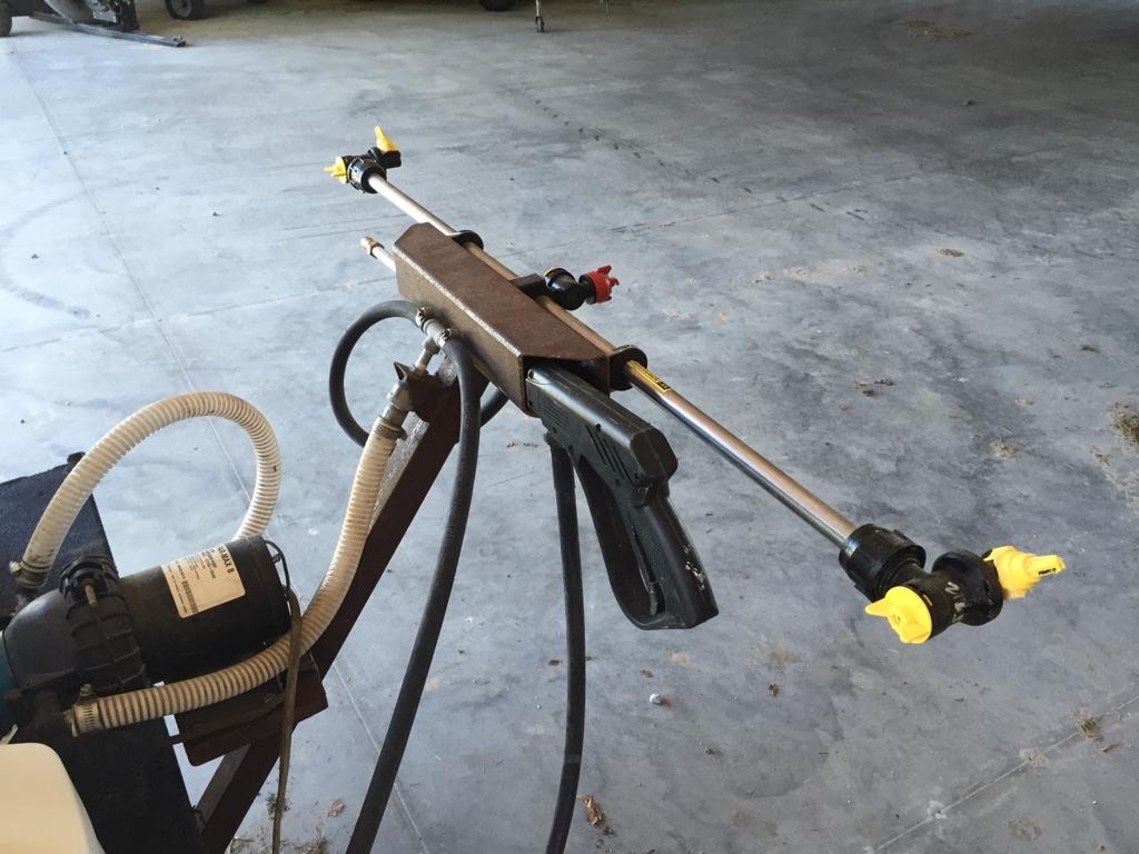 Homemade 275 Gal UTV Sprayer   North Carolina Hunting and