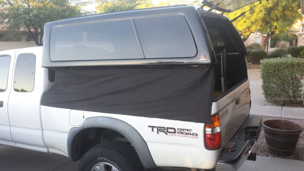 Topper Lift Makes Your Truck Topper a
