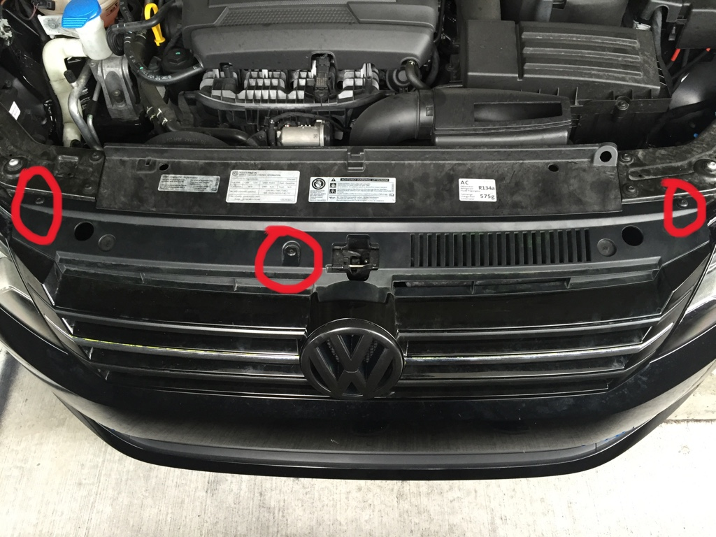 How to remove the grille 89