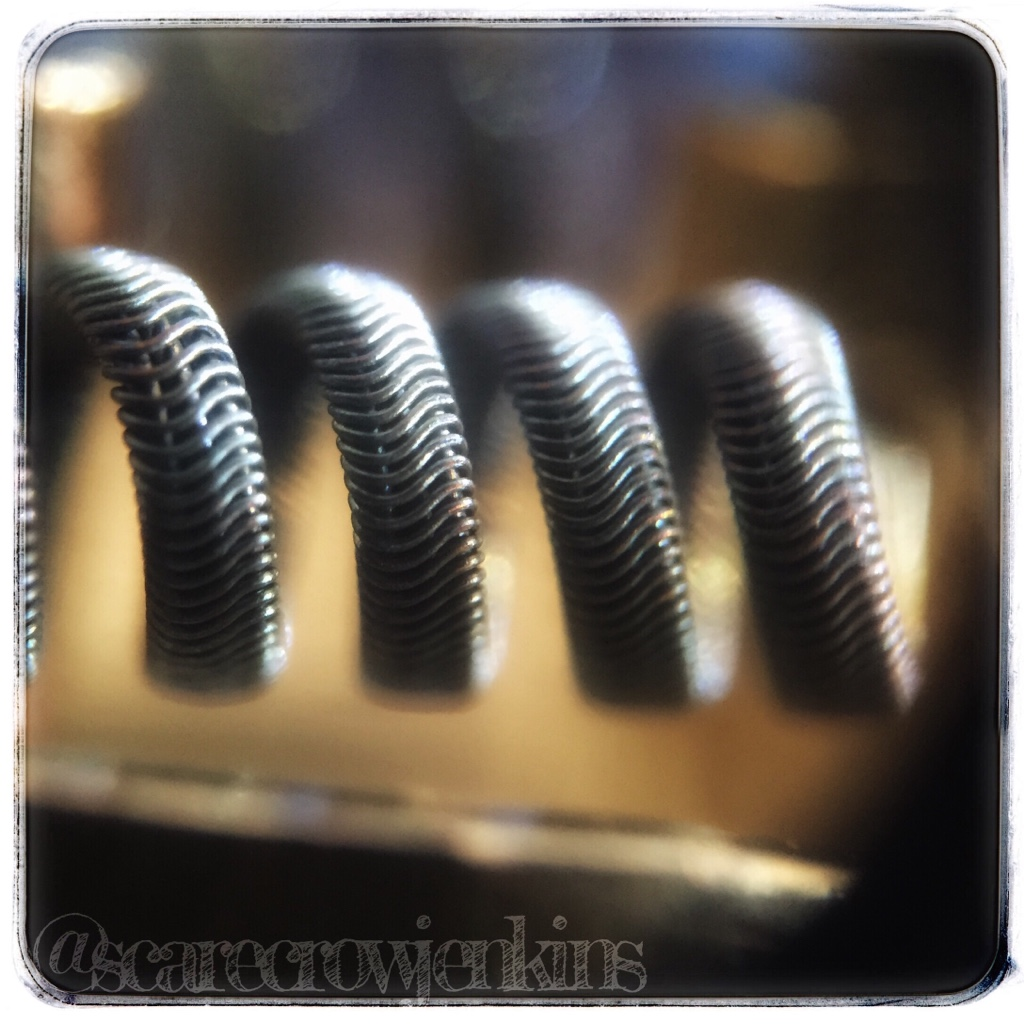 2/26g Fused Clapton coil 36g ka1 5/6 wraps 3mm 0,44 single 0,22 dual