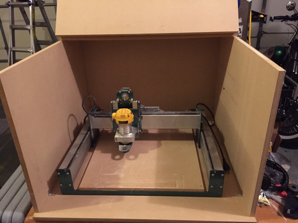 The Shapeoko Forum • View topic - My take on soundproof enclosure
