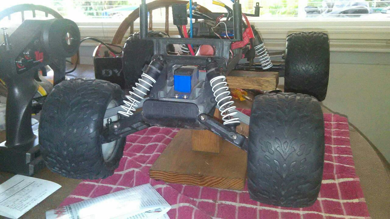 Traxxas e-Rustler RPM RPM70662 Wide Front A-Arms Black Stampede 2wd