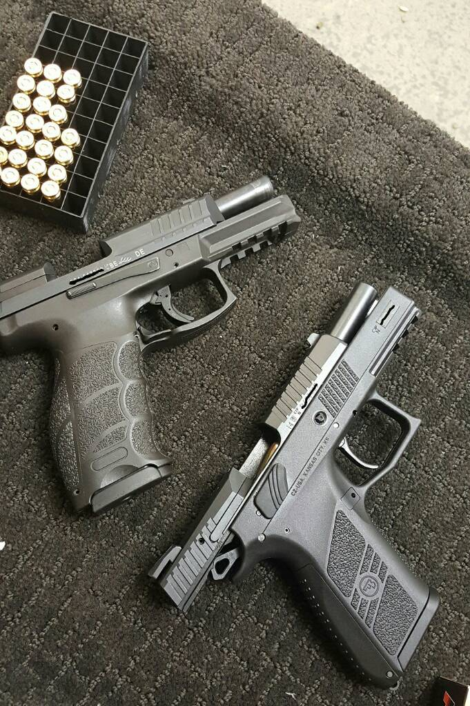 New CZ P-07 and P-09 pics and impressions and surprises