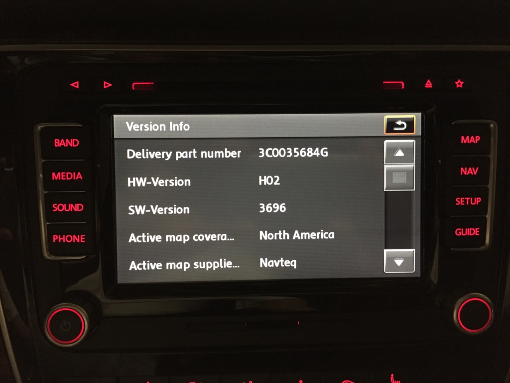 RNS510 Firmware & Maps Info Thread - Page 8