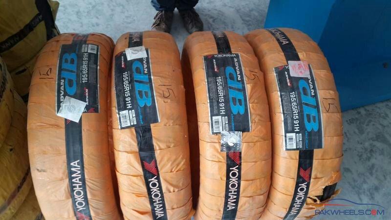 Smuggled tyres - a176eb17af5e1381000dce63da0cc4b8