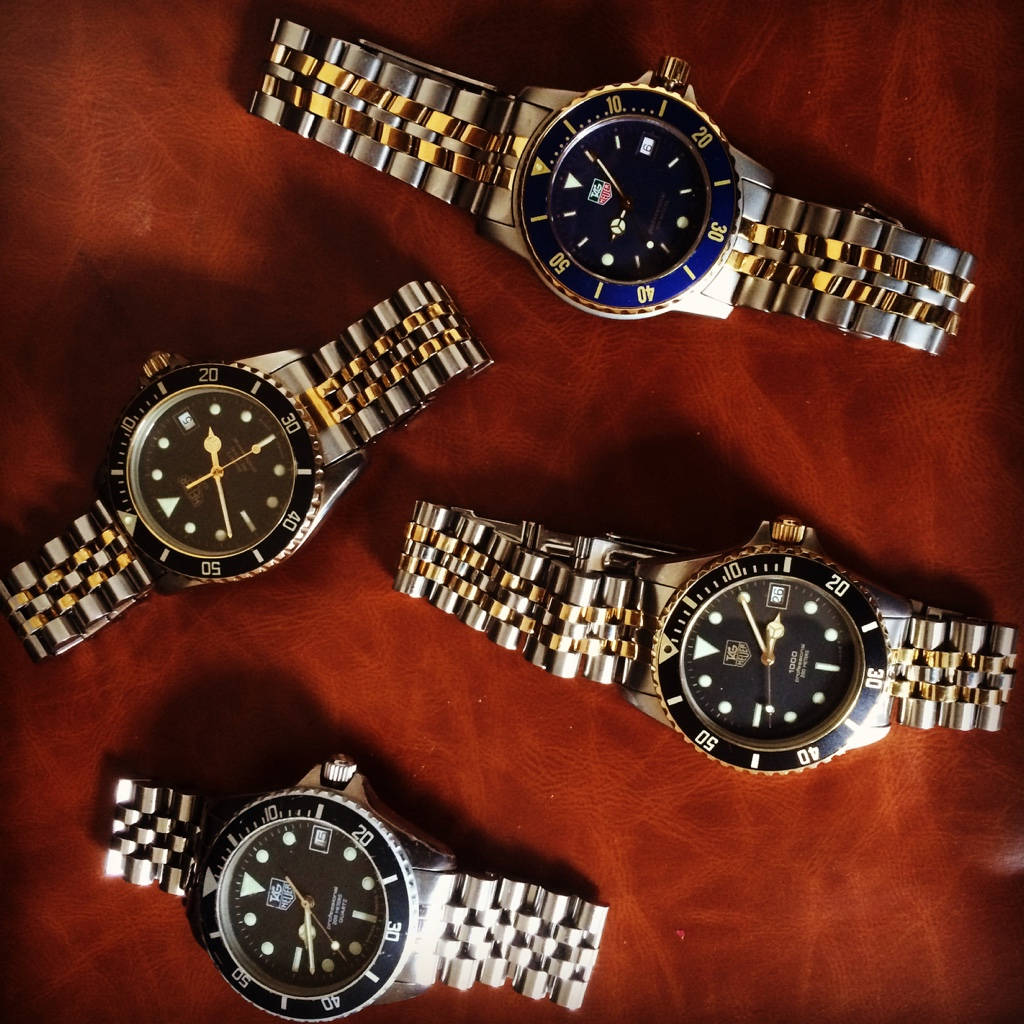 half off 82cc6 9a295 The Heuer / Tag Heuer 1000 Club. 1000 divers only!