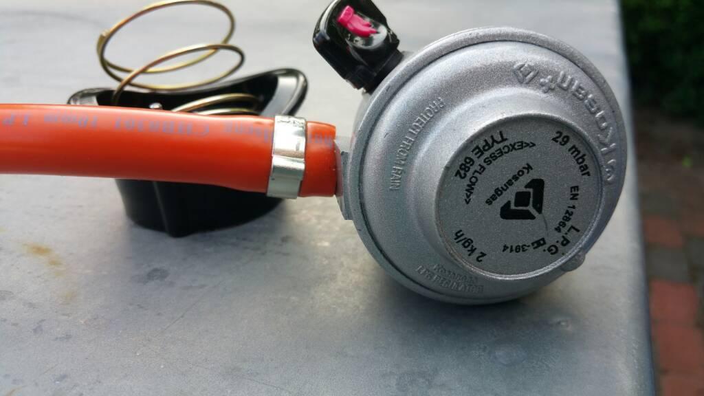 Kosan gas regulator