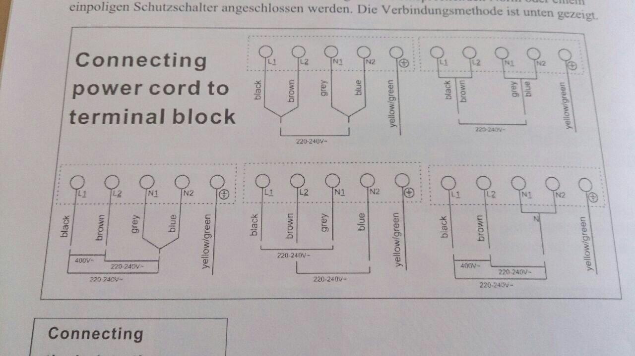 Ausgezeichnet Einphasiges Schaltschema Galerie - Der Schaltplan ...