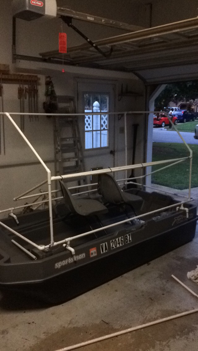 Duck Hunting Chat Pelican Bass Boat Modification Waterfowl