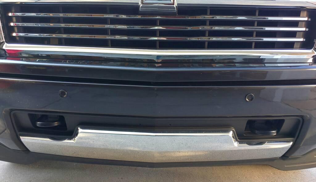 Front license plate bracket - 2014-2018 Silverado & Sierra Mods - GM ...